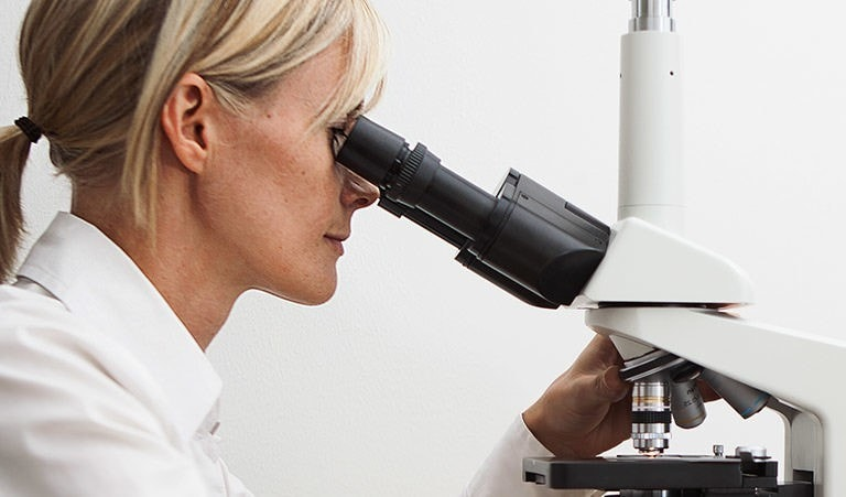 Untersuchung des Vitalblutes im Dunkelfeldmikroskop, Zahnärztin für ganzheitliche Zahnheilkunde Marion Lobensommer